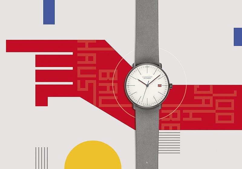 Junghans Uhr 100 Jahre Bauhaus max bill Automatic quer