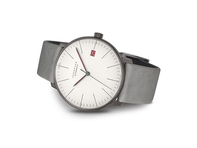 Bauhaus-Uhr: Junghans max bill Automatic 100 J. Bauhaus 027_4901_02