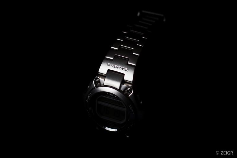 Casio MR-G Edelstahl Low Key