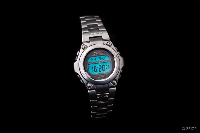 Casio G-Shock MR-G Edelstahl