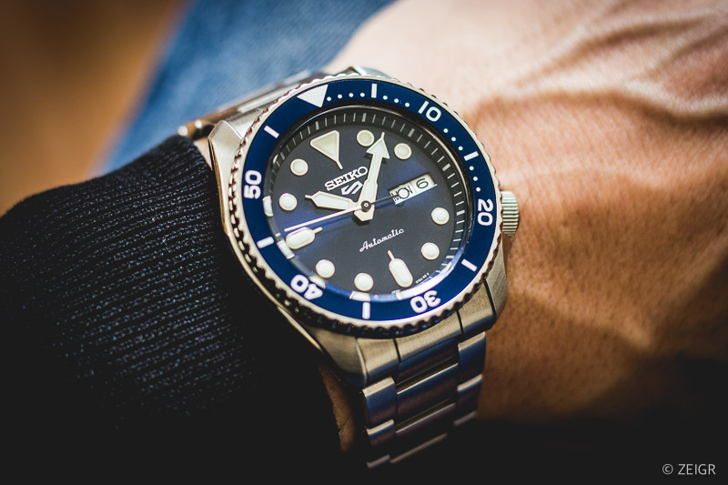 Seiko 5 Sports Automatic 2019 Wristshot