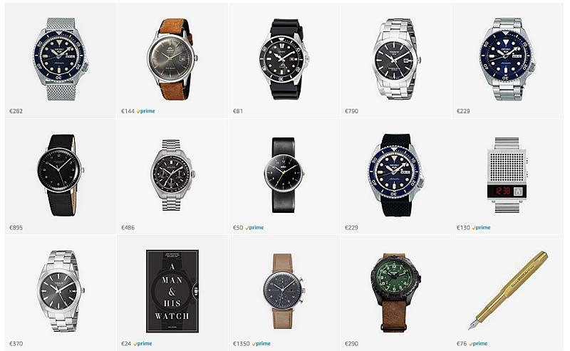 Uhren-Tipps - amazon Ideenliste