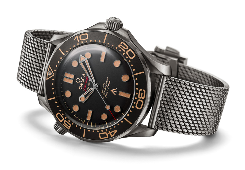 James Bonds neue Uhr: Omega Seamaster Diver 300M 007 Edition (2020)