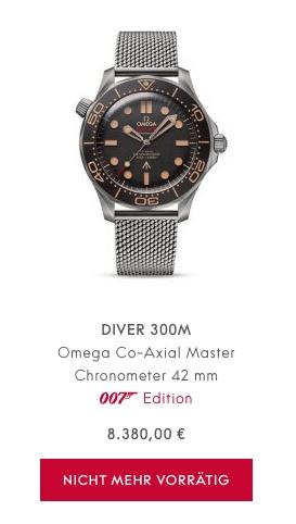 Omega Seamaster James Bond 007 sold out