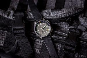 Laco Frankfurt GMT - ZEIGR Strap Lederband All Black
