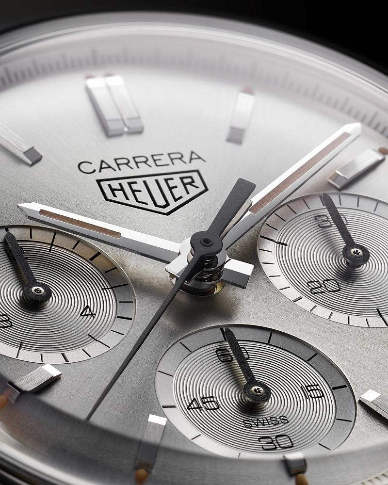 Tag Heuer Carrera 160ys Re-edition_2020 CBK221B.FC6479 Zifferblatt Close up