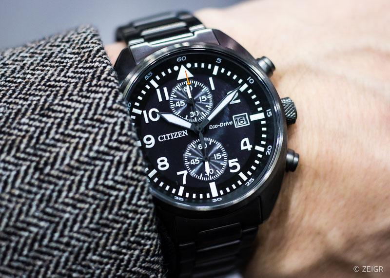 Uhren-Tipps & Inhorgenta 2020 Citizen Pilot Chronograph CA7047-86E