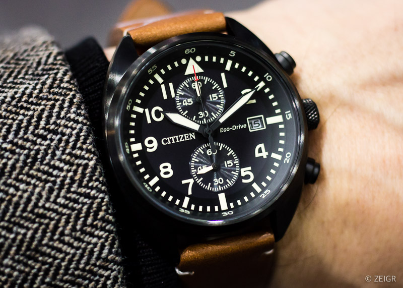 Uhren-Tipps 2020 - Citizen Pilot Chronograph CA7045-14E