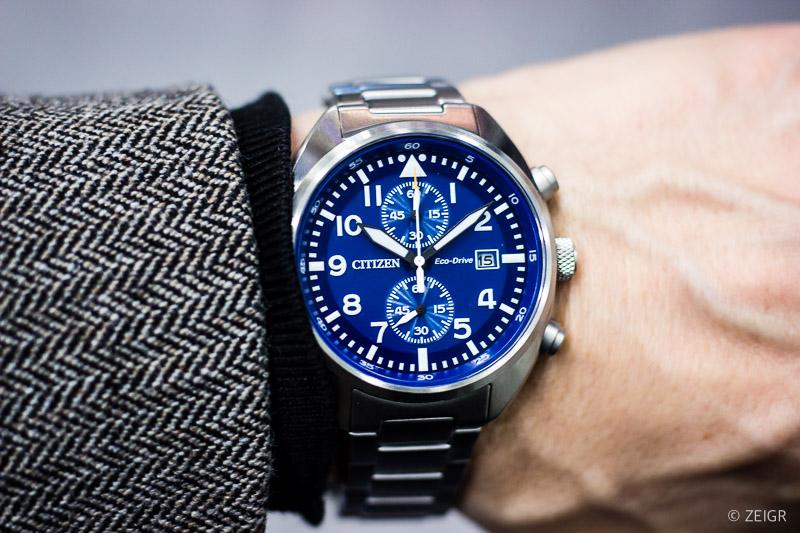Uhren-Tipps 2020 Citizen Pilot Chronograph CA7040-85L