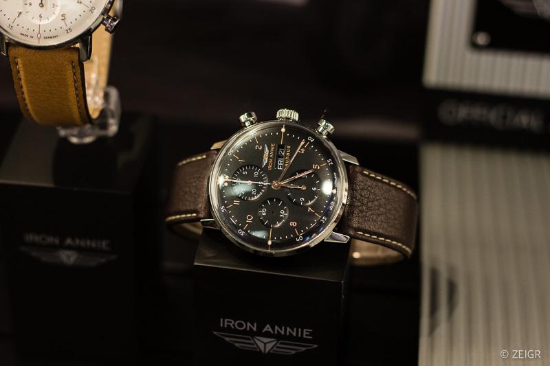 Iron Anie Bauhaus Chronograph