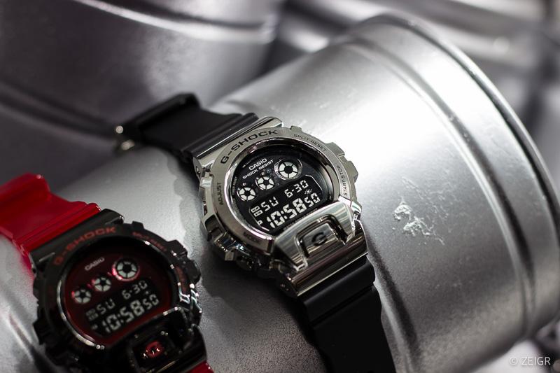 Casio G-Shock - Metall Silber Gehäuse