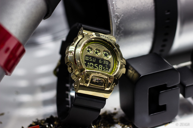 Casio G-Shock - Metall Gold Gehäuse