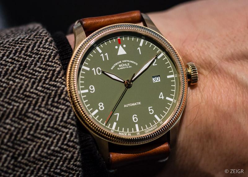 Mühle Glashütte Terrasport IV Bronze Grün Limited Edition