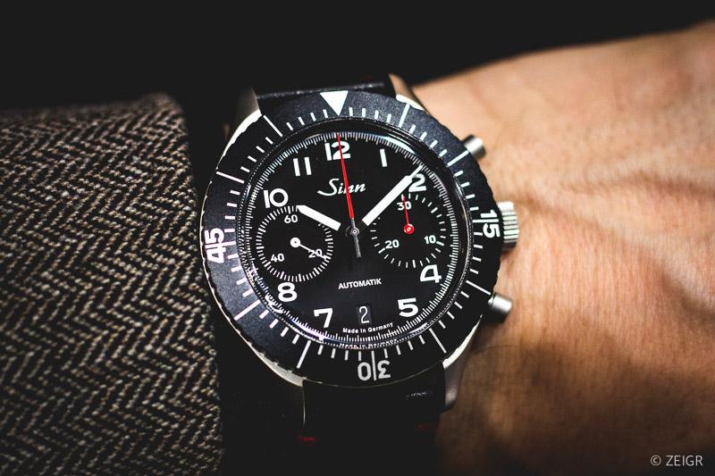 Inhorgenta 2020 Sinn 158 Bundeswehr Chronograph