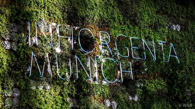 Inhorgenta 2020 - ZEIGR Titel Neon