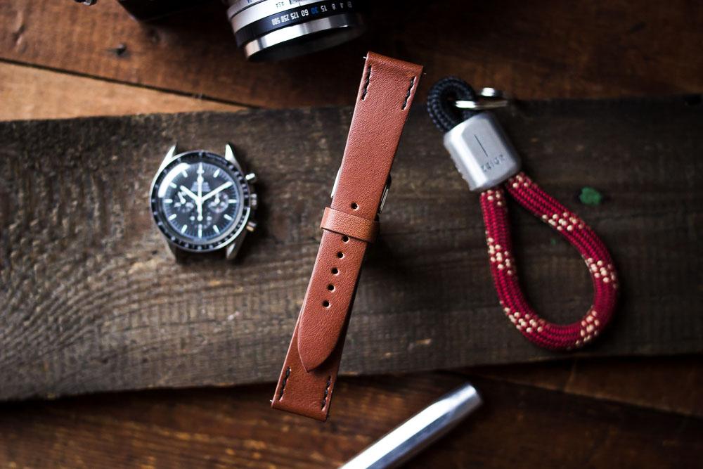 Uhrenarmband Leder Braun 20 mm ZEIGR Online Shop
