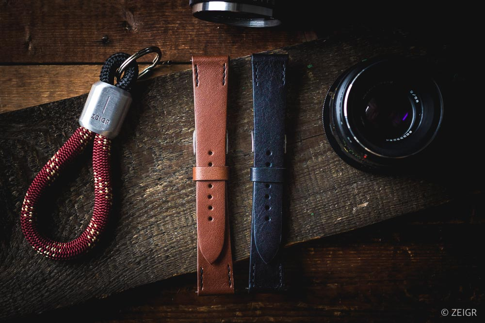 Geschenk-Tipps: ZEIGR Strap - Leder Uhrenarmband 20mm