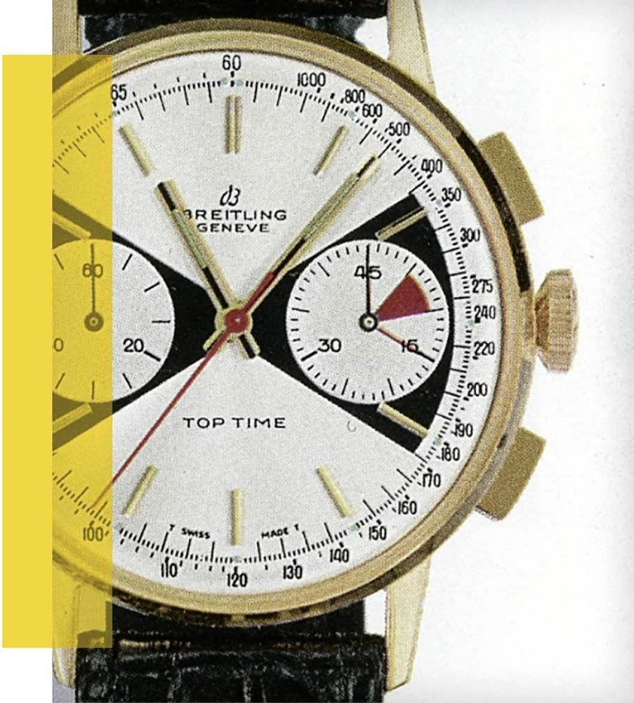 Original Breitling Top Time Ref. 2003 from the 1960s