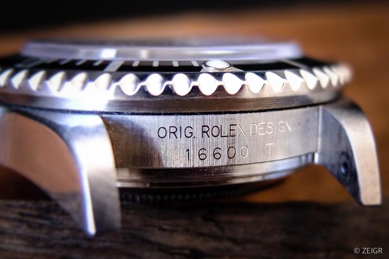 Original Rolex Design 16600 T