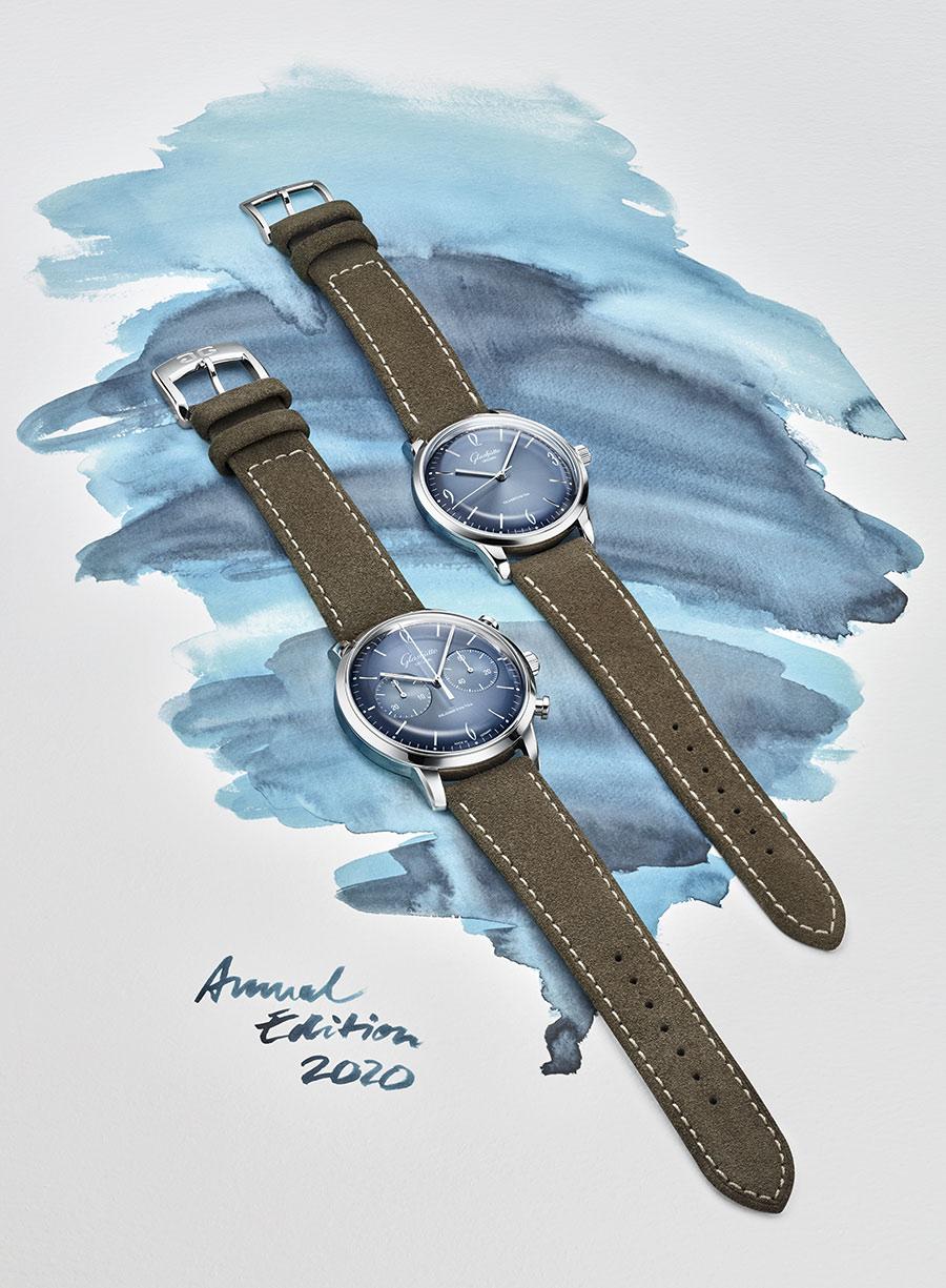 Glashütte Original Sixties und Sixties Chronograph Jahresedition 2020