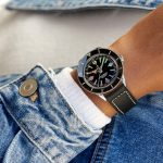 11_Superocean Heritage '57 Limited Edition with a black vintage-inspired leather strap
