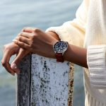 Superocean Heritage '57 Limited Edition with a red Outerknown ECONYL® yarn NATO strap