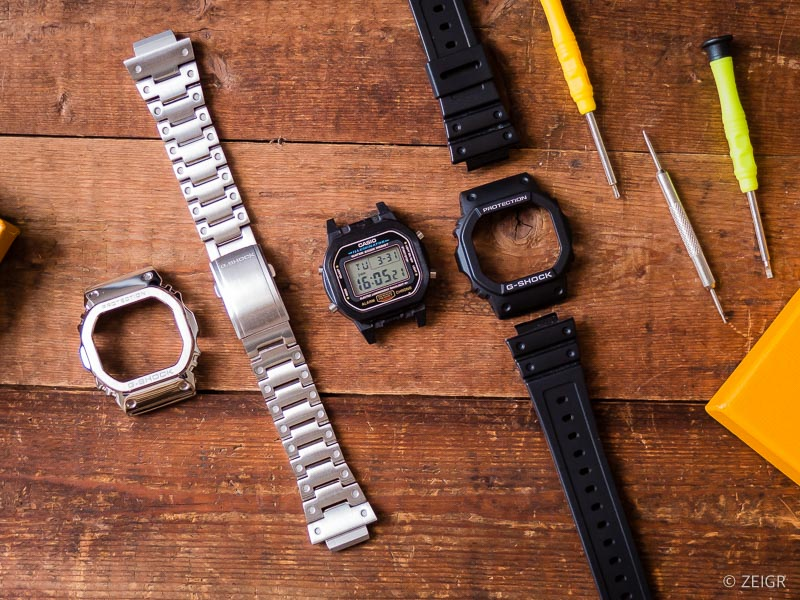 Hack - G-Shock DW-5600 Stahl
