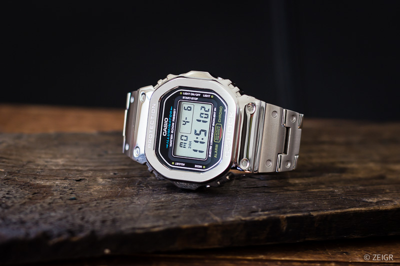 DIY-Set G-Shock DW-5600 Stahl
