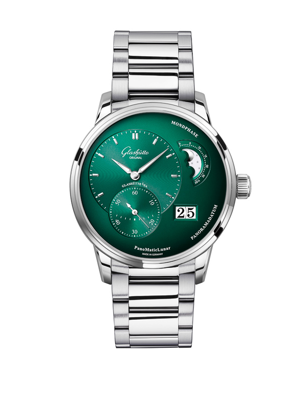 Glashütte Original: PanoMaticLunar Tannengrün / Forest Green