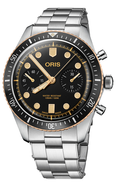 Oris Divers Sixty-Five Chronograph - Omega Speedmaster Alternative?