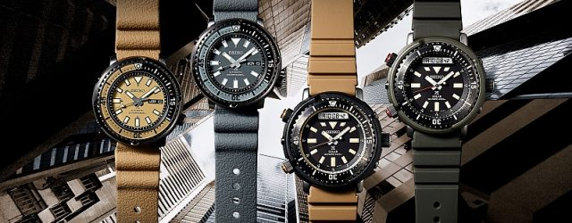 Seiko Urban Safari Neue Uhren 2020