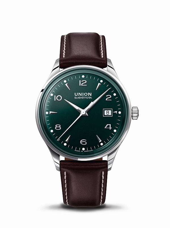 Union Glashütte Noramis Datum - British Racing Green