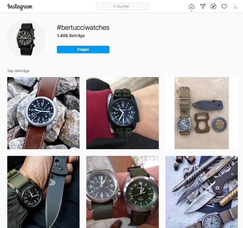 Bertucci Field Watches - Uhren 2