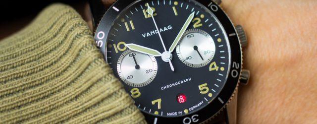 Vandaag Schallmauer Chronograph Test Wrist Shot