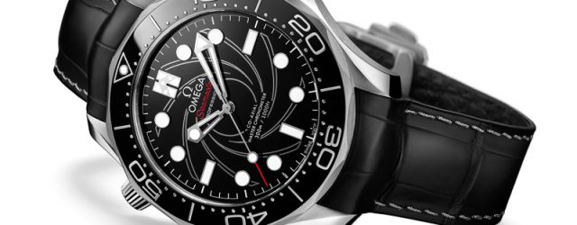 OMEGA Seamaster Platingold James Bond 2020