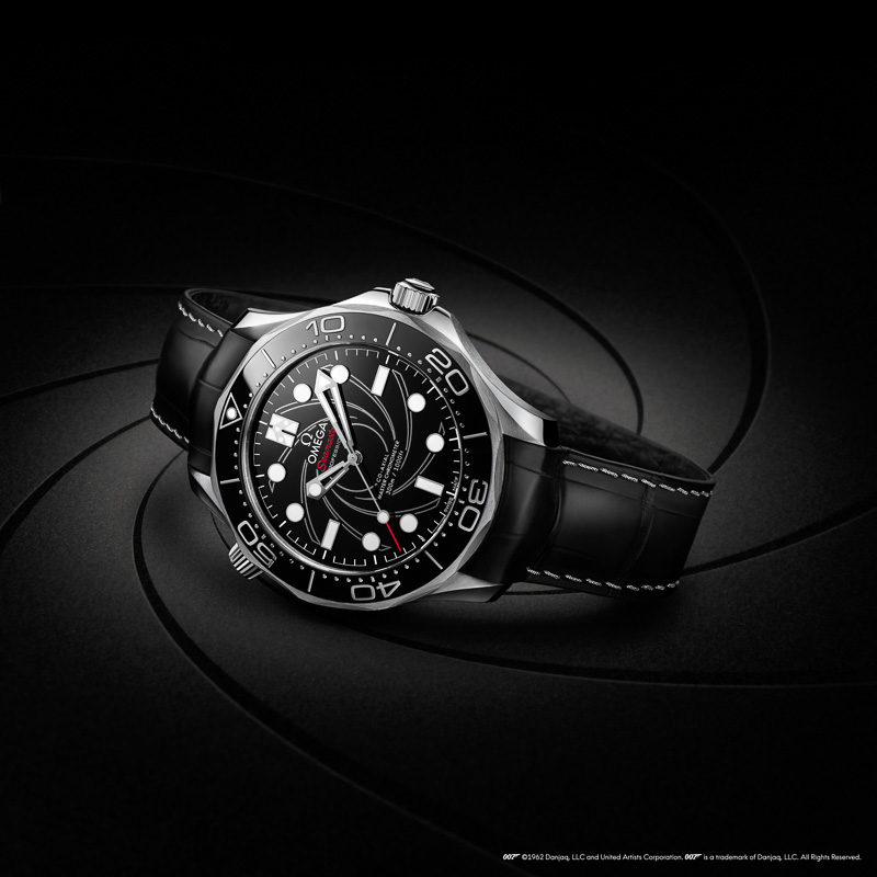 OMEGA Seamaster Platin-Gold James Bond