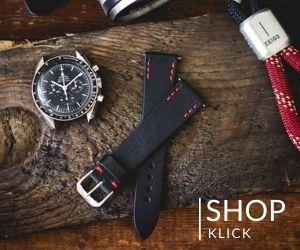 Uhrenarmband Vintage Leder Schwarz 20mm - ZEIGR Shop