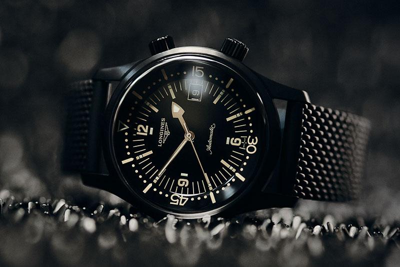 Black Week Longines Legend Diver Watch (Ref. L3.774.2.50.9)