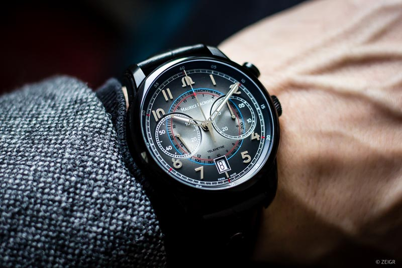 Wristhot Maurice Lacroix Pontos Monopusher Limited Edition - neue Uhren