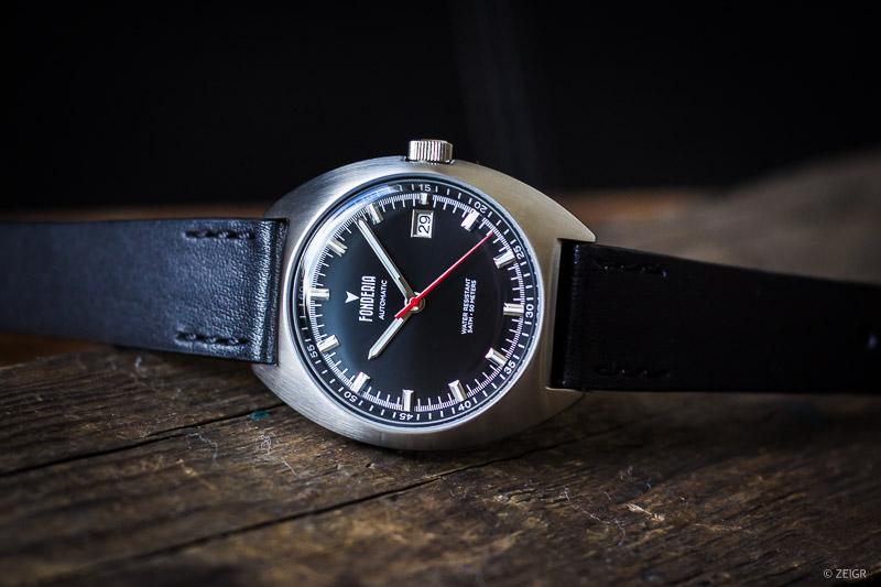 Geschenk-Tipps: Fonderia Lab - Tailedo Automatik Uhr x ZEIGR Lederband