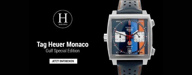 Tag Heuer Monaco Gulf Special Edition Horando -