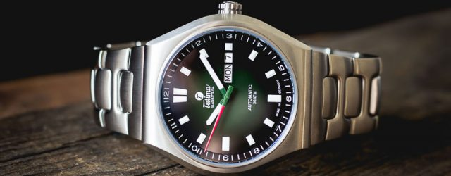 Tutima Glashütte M2 Coastline Titan-Uhr