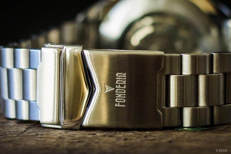 Microbrands: Fonderia Taliedo Stahl-/ Metall-Band