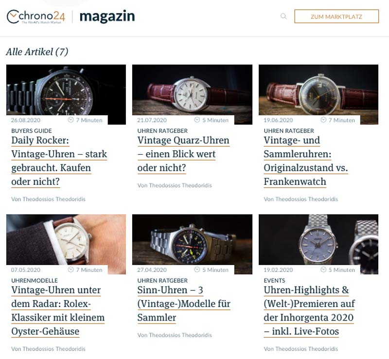 ZEIGR Uhrenblog x Chrono24 Magazin Theodossios Theodoridis