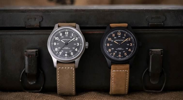 Hamilton Khaki Field Titan Uhren