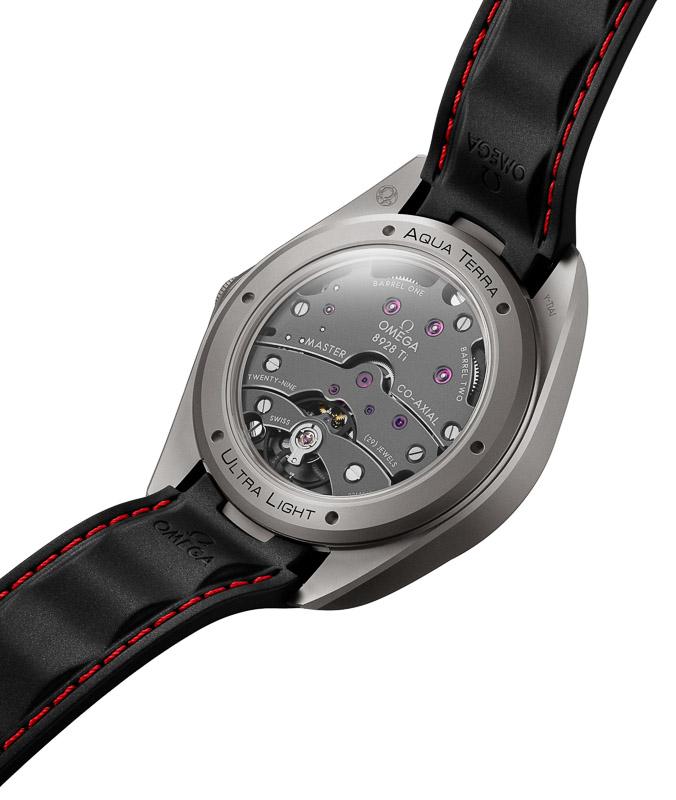 Titan-Uhr: OMEGA Seamaster Aqua Terra Ultra Light Titan-Werk