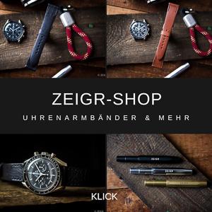 ZEIGR Shop Uhrenarmbänder Vintage handgefertigt & Kaweco Stifte