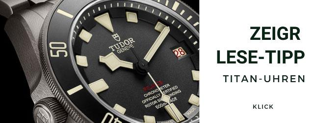 Titan-Uhren Lese- Tipp