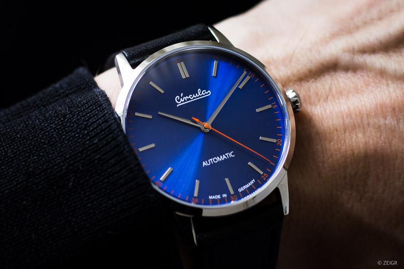 Circula Klassik Automatik Deutsche Microbrands Uhren