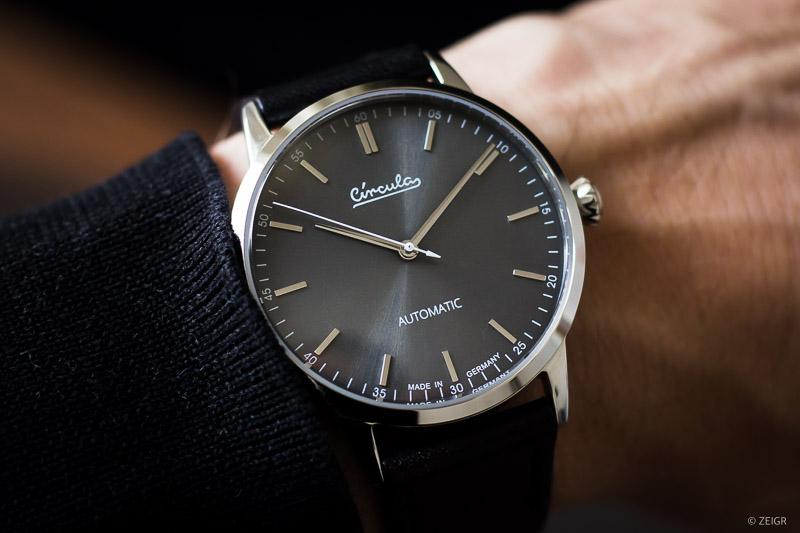 Circula Klassik Automatik Deutsche Microbrand Uhren